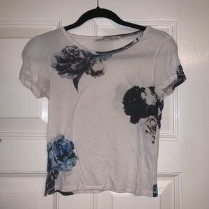 All Saints T-shirt Floral